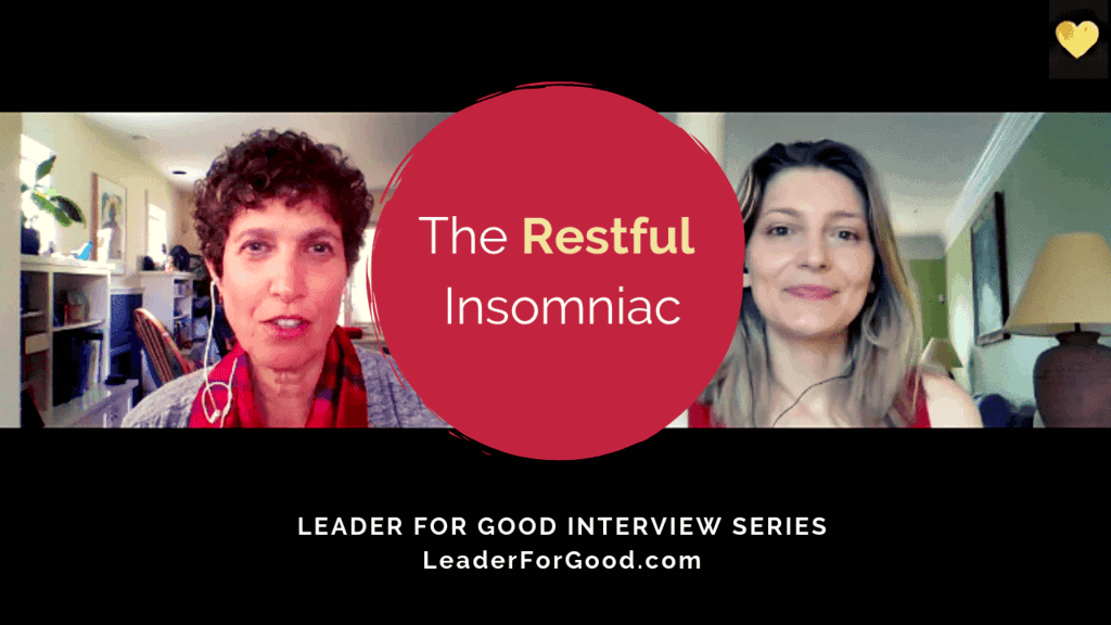 How to sleep better - Bere interviews the Restful Insomniac