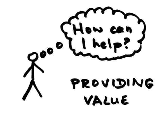 Providing value